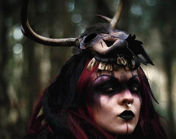 Dainn, The Hunter -ᚢᚦ- Headdress