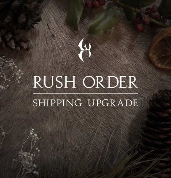 Rush Order Processing & Shipping Upgrade