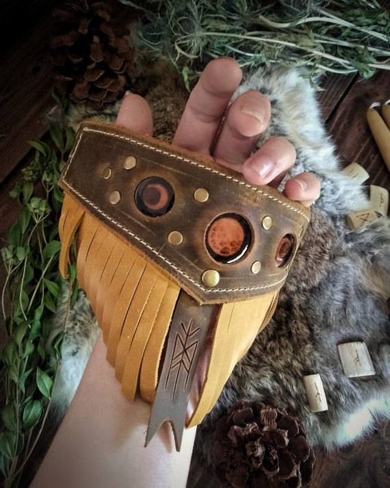 Moon Phase Leather Arm Band