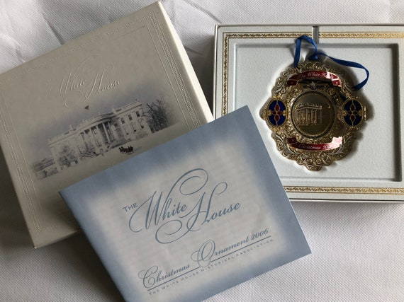 The White House Christmas Ornament 2006 Historical Association