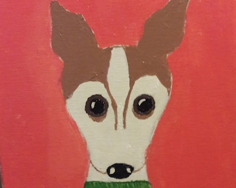 Whimsical painting of your dog!