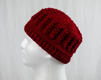 Knitted Red Hat