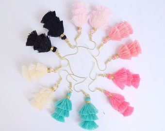 Small Tassle Earrings