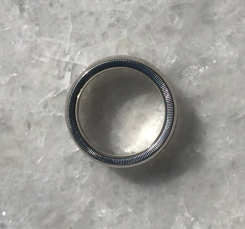 Peace Dollar Silver Coin Ring