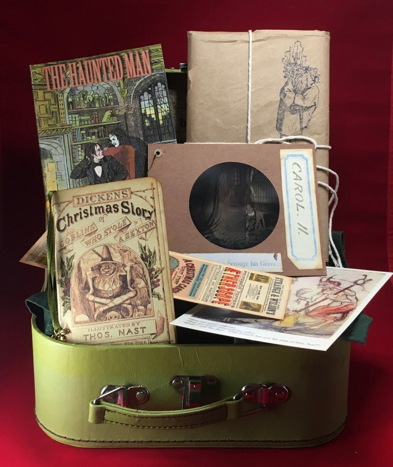 The Ghosts of Christmas Pack  scary Victorian Yuletide treats image 0