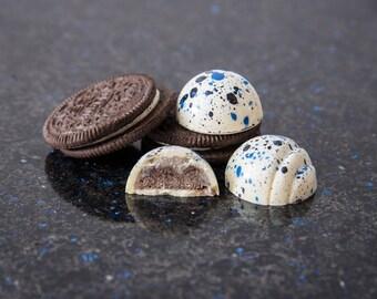 Oreo Cookies & Cream Artisan Bonbon Chocolates