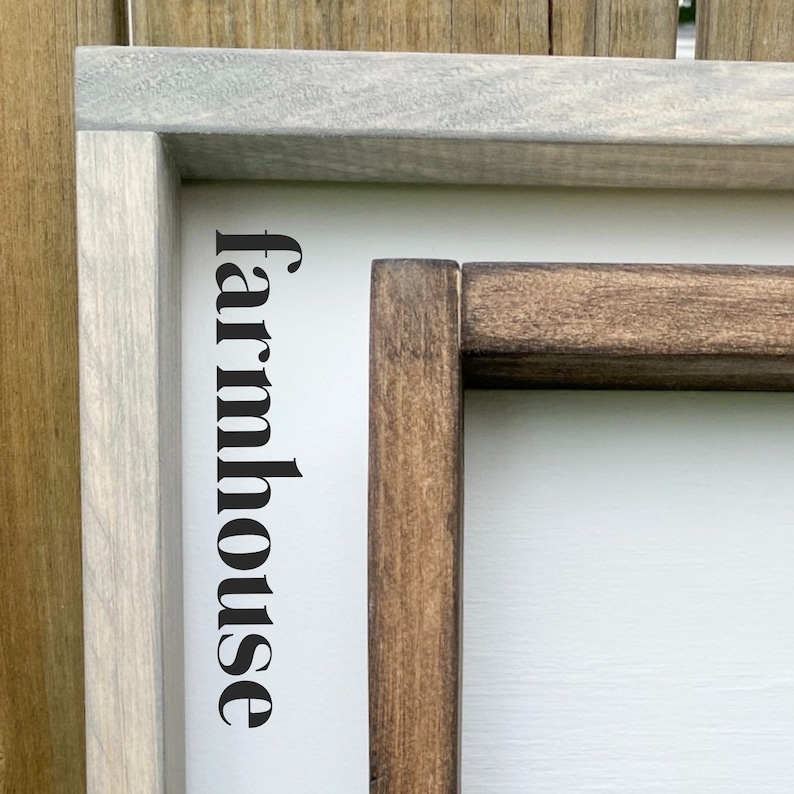 Farmhouse Decor Fall Sign Entry Way Decor Life Starts All Over Again When it Gets Crisp in the Fall Sign Hand Painted Framed Wood