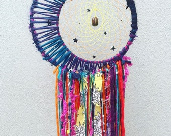 The Moon the Sun and the Stars Dreamcatcher