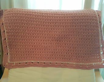English Rose Baby Blanket