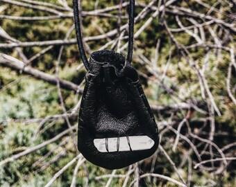Small Leather Medicine Bag