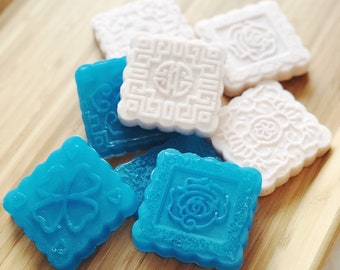Fancy Square Soap Bars