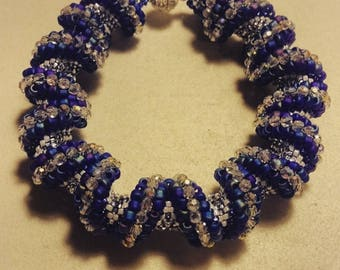 Cellini Spiral Bracelet with Swarovski Crystals - CUSTOM MADE for you