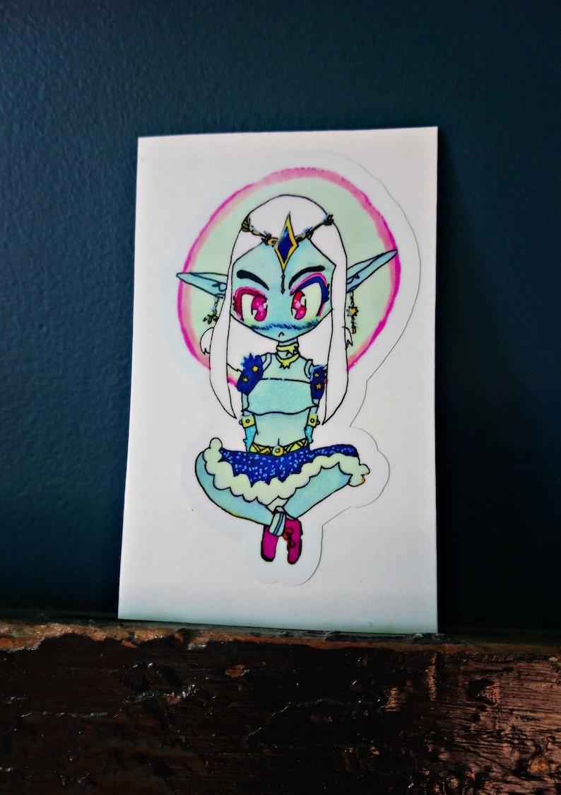 Moonara 3 Vinyl Sticker image 0