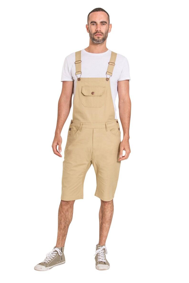 dcd19b81 USKEES Mens Dungaree Shorts Sand | Etsy