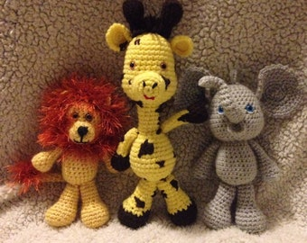 Crocheted Stuffed animals