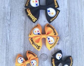 Rockin\u2019 The Steelers Life Bow