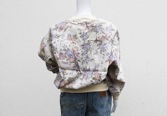 KITSCHSCHICK Vintage Bomber Jacket / 1980s jacket