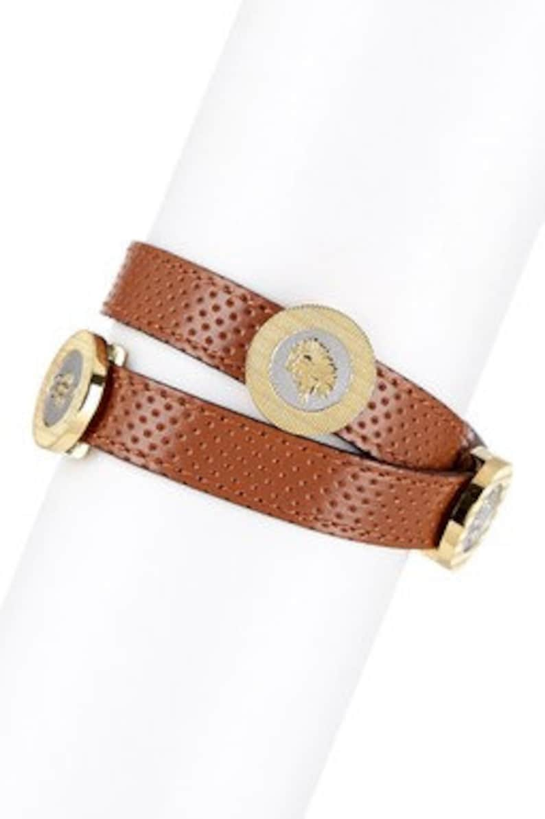 Water Libra Fire Virgo /& Scorpio SEAH 2-Wrap Leather Bracelet w Astrology Elements and Zodiac Signs representing: Leo Earth Air