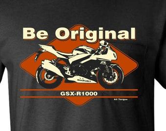 SUZUKI Yoshimura MOTORCYCLE tshirt MOTORBIKE T-SHIRT