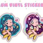 Lum Vinyl Stickers