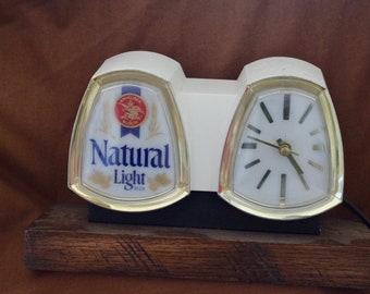 Vintage Natural Light Cash Register Sign