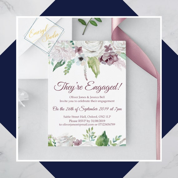 Save the Evening PDF Save the Date Invitation Set Taupe Wedding RSVP cards Engagement Party Invite Taupe Wedding Bundle Details Card