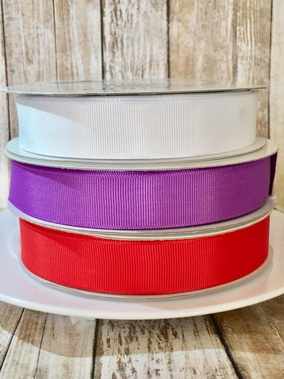 """baby SHARK 5//8/"""" wide grosgrain ribbon the listing is for 5 yards"""