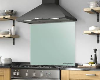 Behind The Stove Backsplash, Tempered Glass, DIY, Solid Glass Backsplash,  Kitchen Decor, Range Backsplash, Glass Sheet, Kitchen Backsplash