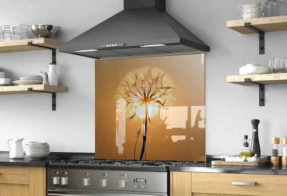 Floral Wall Art Diy Backsplash Kitchen Decor Etsy