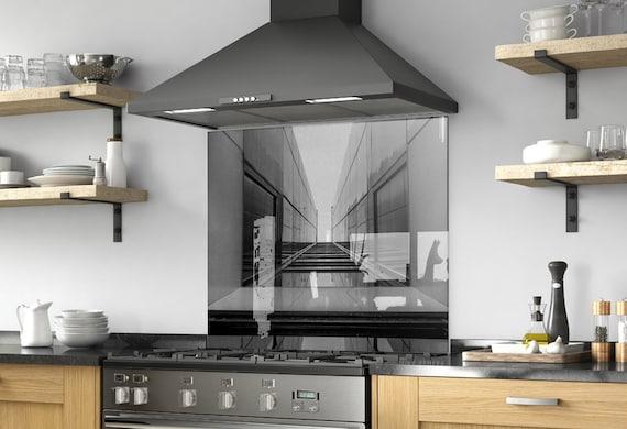 Kitchen Wall Decor, Modern Kitchen, Backsplash Mural, Solid Glass, Custom  Made, DIY backsplash, Tempered Glass, Solid, Abstract Decor