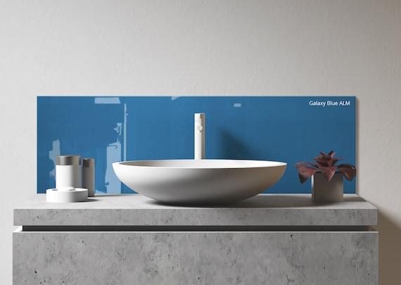 Sink Backsplash Diy Bathroom Backsplash Kitchen Sink Etsy,Roommates Grasscloth Peel And Stick Wallpaper Grey