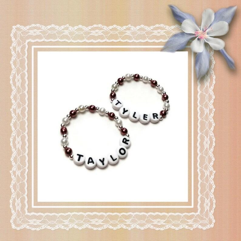Twins Unisex Personalized ID Bracelets,Newborn Jewelry,Twins Gift,Tripplet Bracelets,Baby Shower,Baptism,Baby Photo Prop,Twins Gift