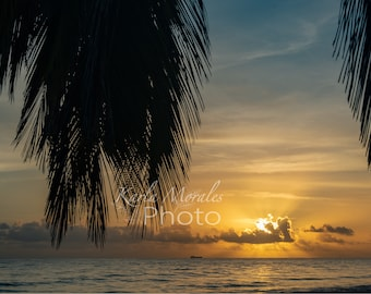 Dorado Puerto Rico Beach Sunrise II Downloadable Photo