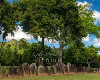 Caguana Taino Ceremonial Center Landscape Photo Fine Print
