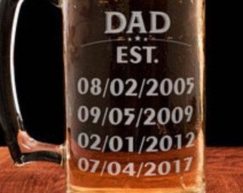 Father's Day / Birthday Beer Mug