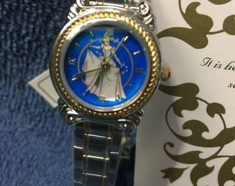 Disney Cinderella Limited Edition #100 Very Rare Collectable Watch & Figurine