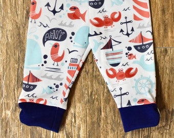 Ahoy Matey Leggings