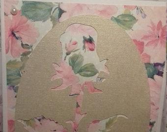 Floral Rose Card