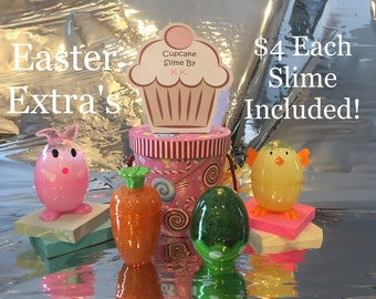 Slime With Easter Container