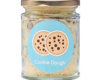 Cookie Dough Cake Jars