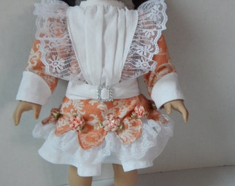 18 inch Edwardian doll dress