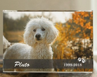 Personalized Pet Memorial Photo Keepsake