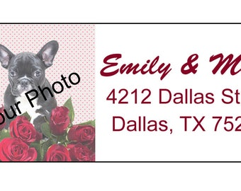 Custom address label. Return address label. Self-adhesive address label. Address sticker.