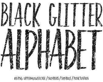 Black Letters Etsy