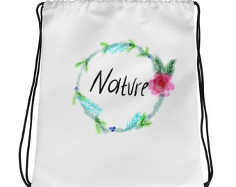 Nature Drawstring bag