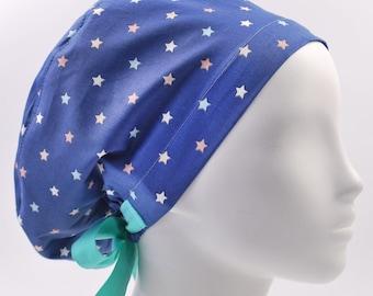 Galaxy Scrub cap Star Scrub cap Horoscope scrub hat star scrub hat moon scrub hat the scrub locker