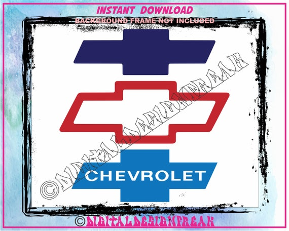Download Chevy Cut Files EPS SVG PNG Vector | Etsy