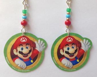 Mario Earrings