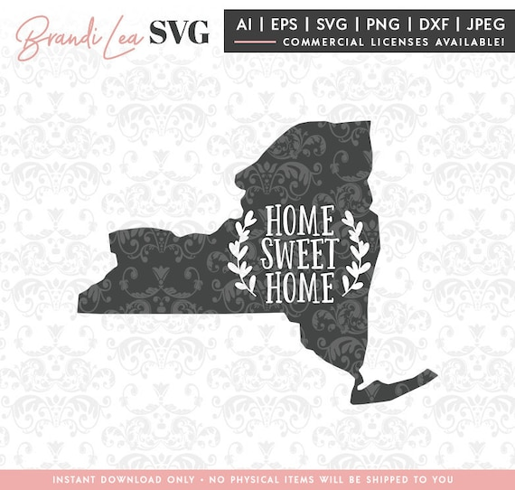 Download New York Home Sweet Home Cutting Files Design