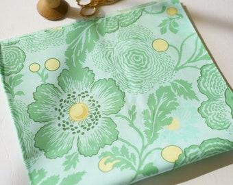 Designer fabric clearance/fabric destash/Fat quarter/Amy Butler/Midwest Modern 2/Ohio sky/fresh poppies